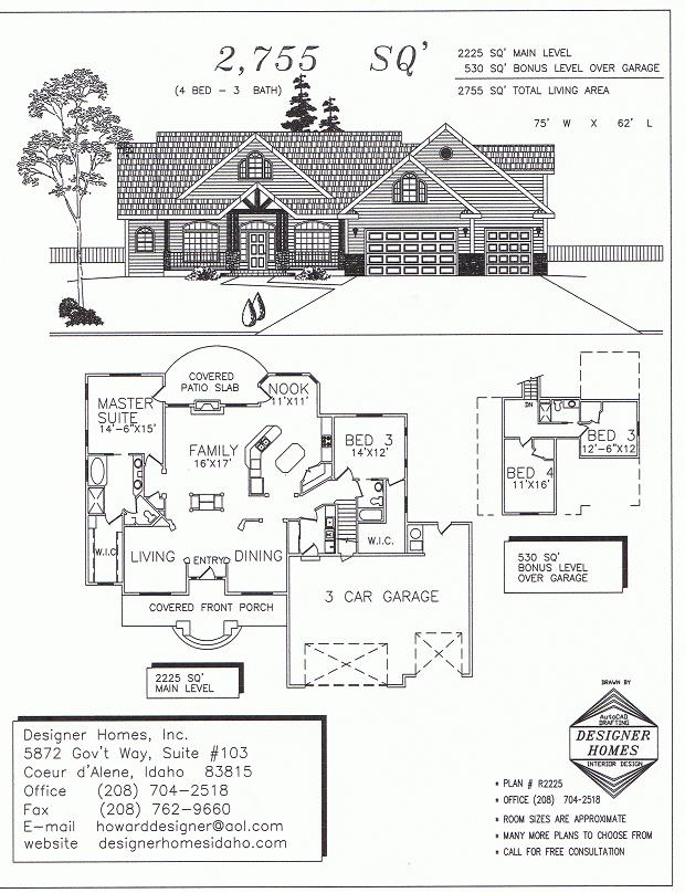 Designer Homes The Perfect House Plan